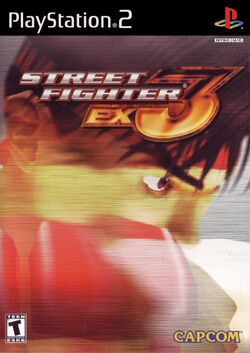 Box artwork for Street Fighter EX 3.