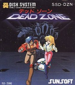 Box artwork for Dead Zone.