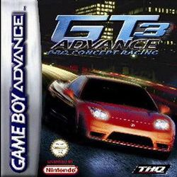 Box artwork for GT Advance 3: Pro Concept Racing.