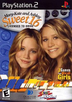 Box artwork for Mary-Kate and Ashley: Sweet 16.