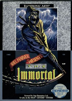 Box artwork for The Immortal.
