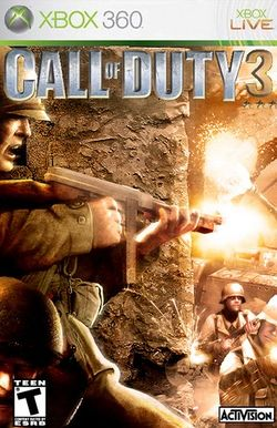 Box artwork for Call of Duty 3.