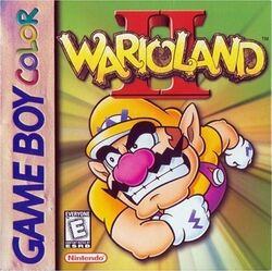 Box artwork for Wario Land II.