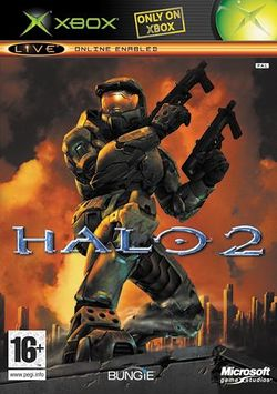 Box artwork for Halo 2.