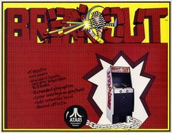 Box artwork for Breakout.