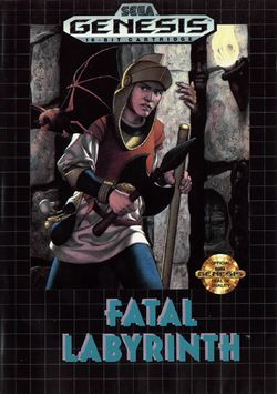 Box artwork for Fatal Labyrinth.