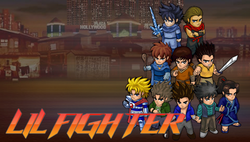 Box artwork for Little Fighter.