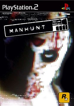 Box artwork for Manhunt.