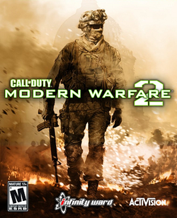 Box artwork for Call of Duty: Modern Warfare 2.
