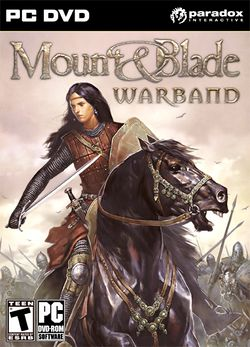 Box artwork for Mount&Blade: Warband.