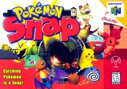 Box artwork for Pokémon Snap.