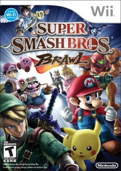 Box artwork for Super Smash Bros. Brawl.