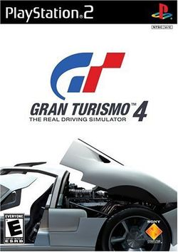 Box artwork for Gran Turismo 4.