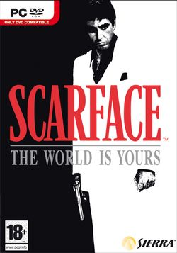 Box artwork for Scarface: The World Is Yours.