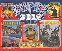 Box artwork for Super Sega.