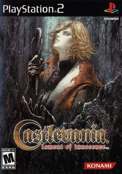 Box artwork for Castlevania: Lament of Innocence.