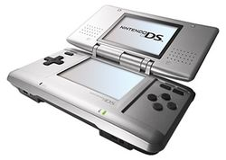 The console image for Nintendo DS.