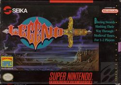 Box artwork for Legend.