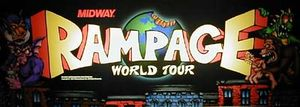 Rampage: World Tour marquee