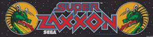 Super Zaxxon marquee