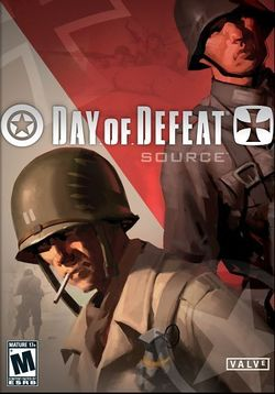 Box artwork for Day of Defeat: Source.