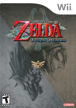 Box artwork for Twilight Princess.