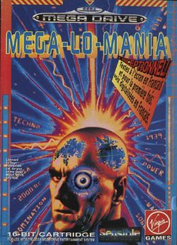 Box artwork for Mega Lo Mania.