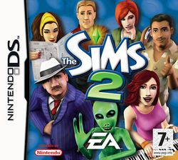 Box artwork for The Sims 2.