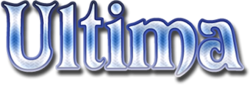 The logo for Ultima.
