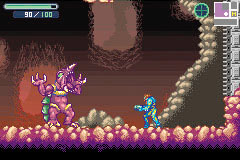 A Beta Image Of Metroid Fusion Showing Some Unused Imagery
