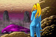The Zero Suit first appears in Metroid: Zero Mission
