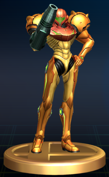 File:Samus (Varia Suit) - Brawl Trophy.png