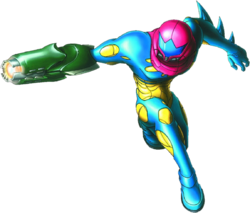 Fusion of Samus from Artwork