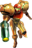 Samus's fully-armored Varia Suit