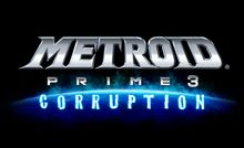 Metroid Prime 3: Corruption Logo