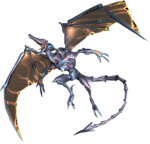 Meta Ridley's appearance in Corruption