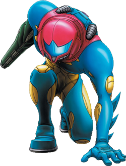 Samus in the Fusion Suit