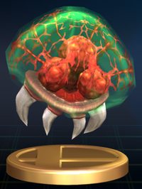 Metroid - Brawl Trophy.png