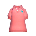 Shrimp-Pink Polo