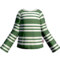 Green Striped LS
