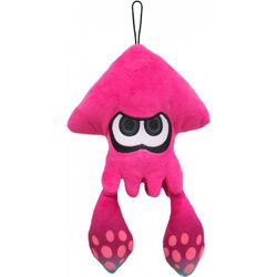 Pink Squid Plush