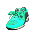 S Gear Shoes Cyan Trainers.png
