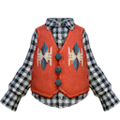 S Gear Clothing Squid-Pattern Waistcoat.png