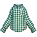 S Gear Clothing Green-Check Shirt.png