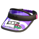 Purple Novelty Visor