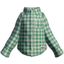S2 Gear Clothing Green-Check Shirt.png