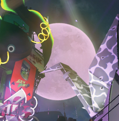 Moon in Inkopolis Square during Splatfest.png