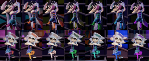 Squid Sisters Splatfest Colors.png