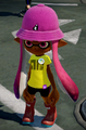 Blowfish bell hat + basic tee + acerola rain boots.png