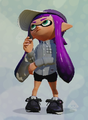 Jet cap + gray mixed shirt + black trainers.png